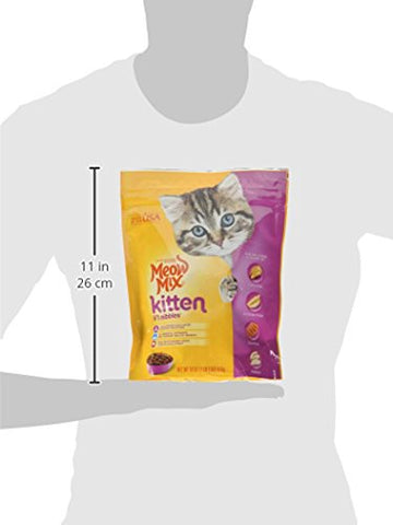 : Meow Mix Kitten Li'l Nibbles Dry Cat Food, - Mia's Pet Supply