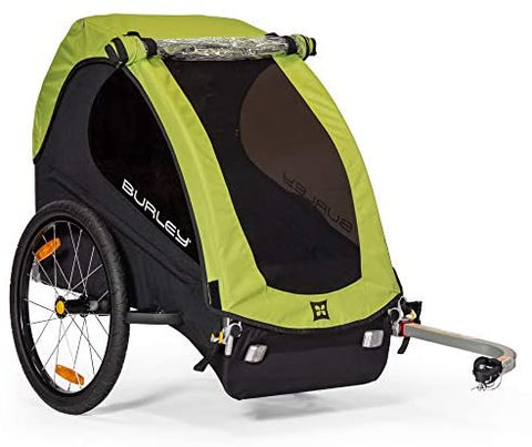 Burley Minnow, 1 Seat, Lightweight, Kids Bike-Only Trailer : Sports & Outdoors