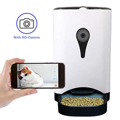 : 4.5L Smart HD Camera Feeder for Video and Audio Communication - Mia's Pet Supply
