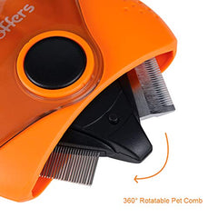 : Petoffers 3 in 1 Pet Grooming Tools - Dematting Comb for Dogs and Cats - Mia's Pet Supply