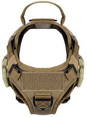 ICEFANG Lightweighting Tactical Dog Harness with Handle, K9 Working Training vest - Mia's Pet Supply
