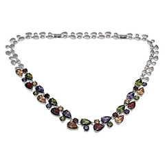 : Women Bracelets Gemstone Multicolor Crystal Garnet Topaz Amethyst - Mia's Pet Supply