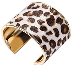 The Woo's Leopard Cuff Bracelet - Mia's Pet Supply