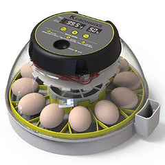 KEBONNIXS 12 Egg Incubator with Humidity Display, Egg Candler - Mia's Pet Supply