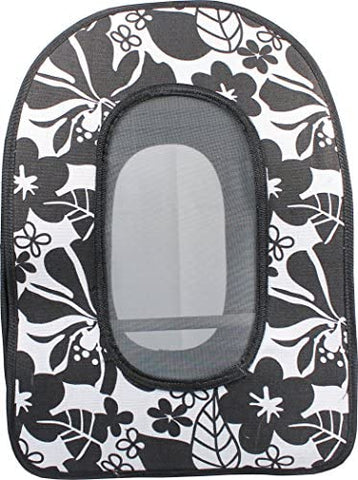 A&E Cage Company 001374 Black Happy Beaks Soft Sided Bird Travel Carrier