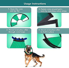 ProCollar Pet Recovery Cone E-Collar - Mia's Pet Supply