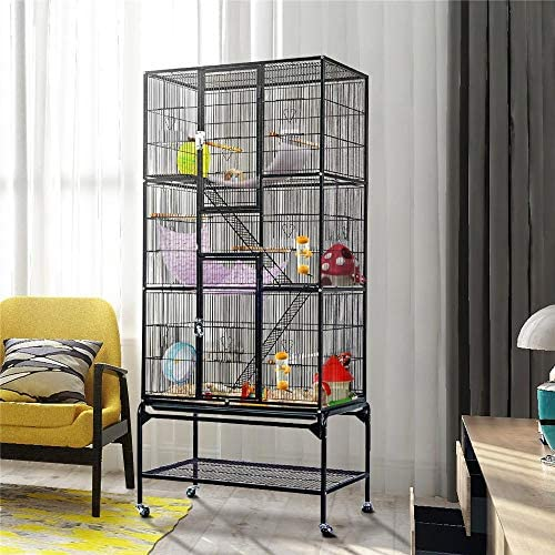 YAHEETECH 69-Inch Extra Large Bird Cage - Mia's Pet Supply
