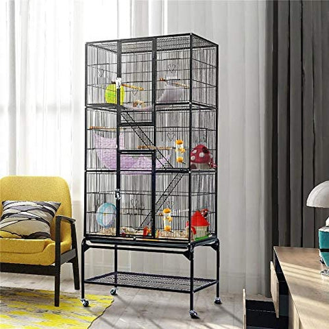 YAHEETECH 69-Inch Extra Large Bird Cage