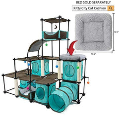 Kitty City Claw Mega Kit Cat Furniture, Cat Feeding Collection - Mia's Pet Supply