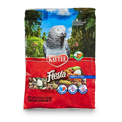 : Kaytee Fiesta Parrot Food 25 pound bag : Pet Food : - Mia's Pet Supply