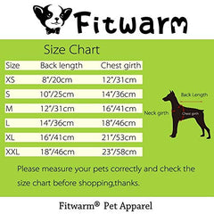 Fitwarm Plaid Pet Clothes for Dog Sweatshirts - Mia's Pet Supply