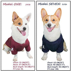 Dog Shirts Blank T-Shirt Cotton Pet Clothes - Mia's Pet Supply