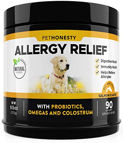 : Pet Honesty Allergy Relief Immunity Supplement for Dogs
