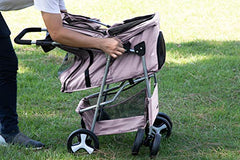 Paws & Pals 4 Wheeler Elite Jogger Pet Stroller - Mia's Pet Supply