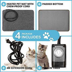PETYELLA Cat Houses for Outdoor Cats - Heated Cat Bed - Mia's Pet Supply