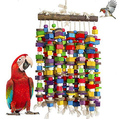 : DELOKEY Large Bird Parrot Chewing Toy - Mia's Pet Supply