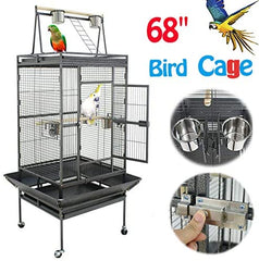 Nova Microdermabrasion 61/68 Inches Large Bird Cage - Mia's Pet Supply