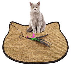 :  Natural Cat Training Scratch Play Pad - Mia's Pet Supply