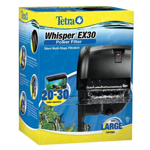 : Tetra Whisper EX Silent Multi-Stage Power Filter for Aquariums : Aquarium Filters : - Mia's Pet Supply