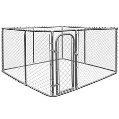 Large Pet  Kennel Shade Cage with Roof Cover - Mia's Pet Supply