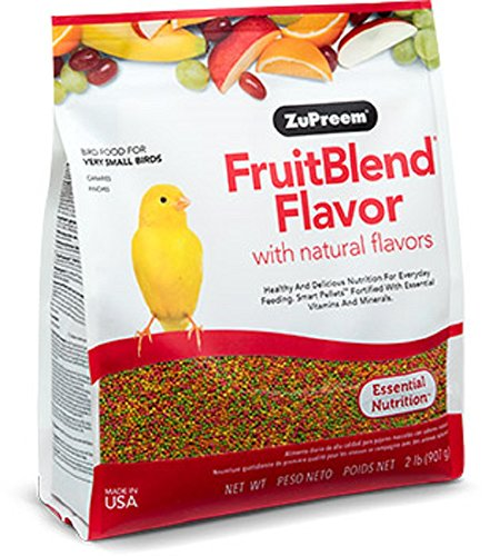 : Zupreem 230300 Fruitblend X-Small Canary/Finch Food, - Mia's Pet Supply