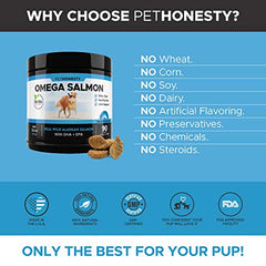 Salmon Oil for Dogs - Mia's Pet Supply