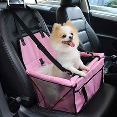 Pet Reinforce Car Booster Seat for Dog Cat Portable - Mia's Pet Supply