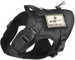 Tactical Dog Vest Harness, Outdoor Training Service Dog Vest - Mia's Pet Supply