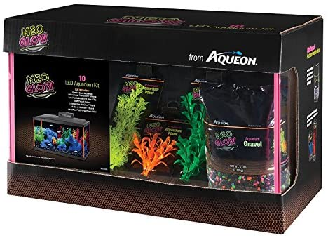 Aqueon Fish NeoGlow LED Aquarium Starter Kits - Mia's Pet Supply