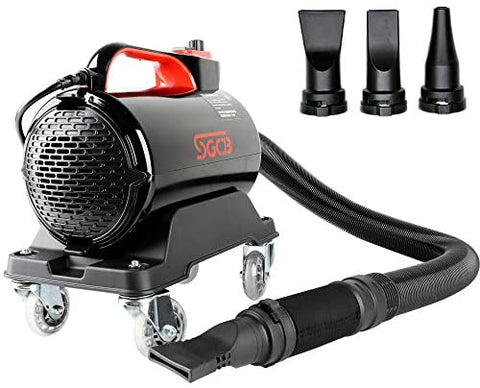 SGCB PRO Car Air Dryer Blower, 5.0HP Powered Double Mode Temp High Velocity