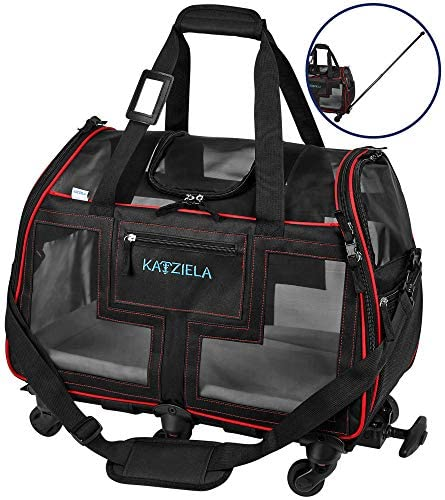 Katziela Airline Approved Pet Carrier - Mia's Pet Supply