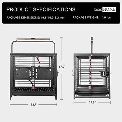 Bird Travel Carrier Cage