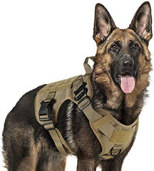 Tactical Dog Harness Vest Large with Handle - Mia's Pet Supply