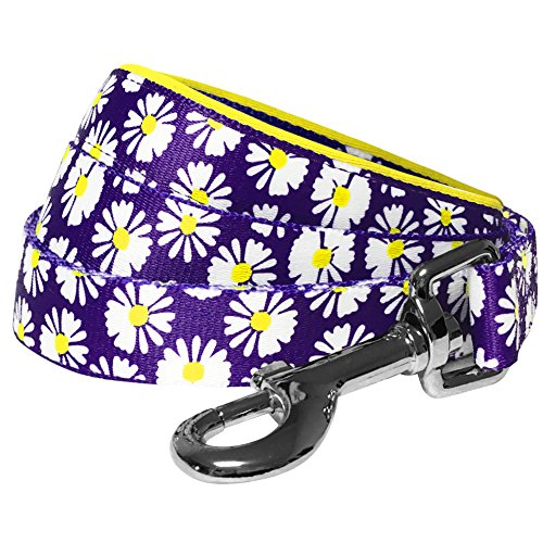 :  Spring Loving Daisy Prints Dog Leash - Mia's Pet Supply