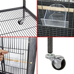 Nova Microdermabrasion 53 Inches Large Bird Cage - Mia's Pet Supply
