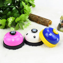 New Pet Call Bell Toy for Dog Interactive Pet Training Bell Toys - Mia's Pet Supply