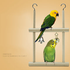 Swing Cage Hanging Bell Cockatiel Parakeet Toys - Mia's Pet Supply
