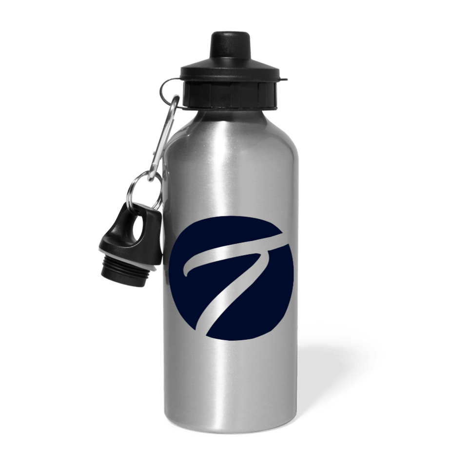 Tennisletics Water Bottle - silver