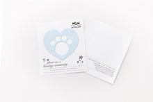 Load image into Gallery viewer, (Set of 3) Parting Tails® Forget-Me-Nots, Pet Memorial Cards