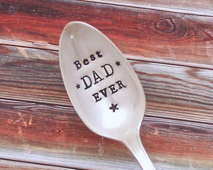 Best Dad Ever Spoon