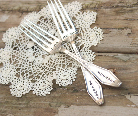 Forever Wedding Day Forks