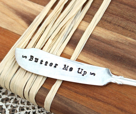 Butter Me Up - Butter Cheese Spreader Knife