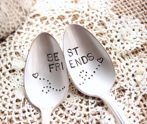 Best Friends Spoon Set