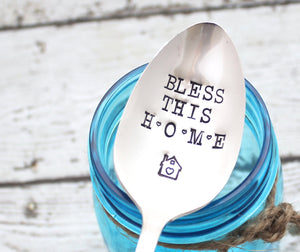 Bless This HOME Serving Spoon