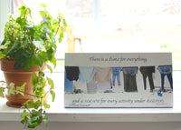 Laundry - Ready to Hang Plaque