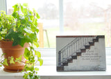 Faith Stairway - Ready to Hang Plaque