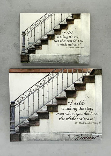 Faith Stairway - Magnet and Deluxe Magnet