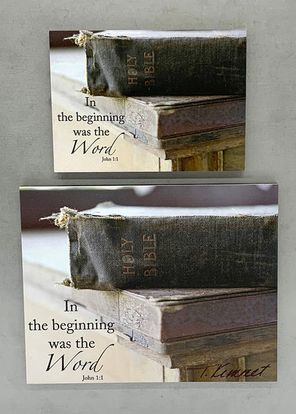 The Word - Bible - Magnet and Deluxe Magnet