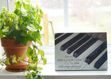 Piano Keys - Ready to Hang Plaque
