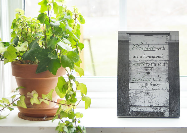 Honey for the Soul - Ready to Hang Plaques